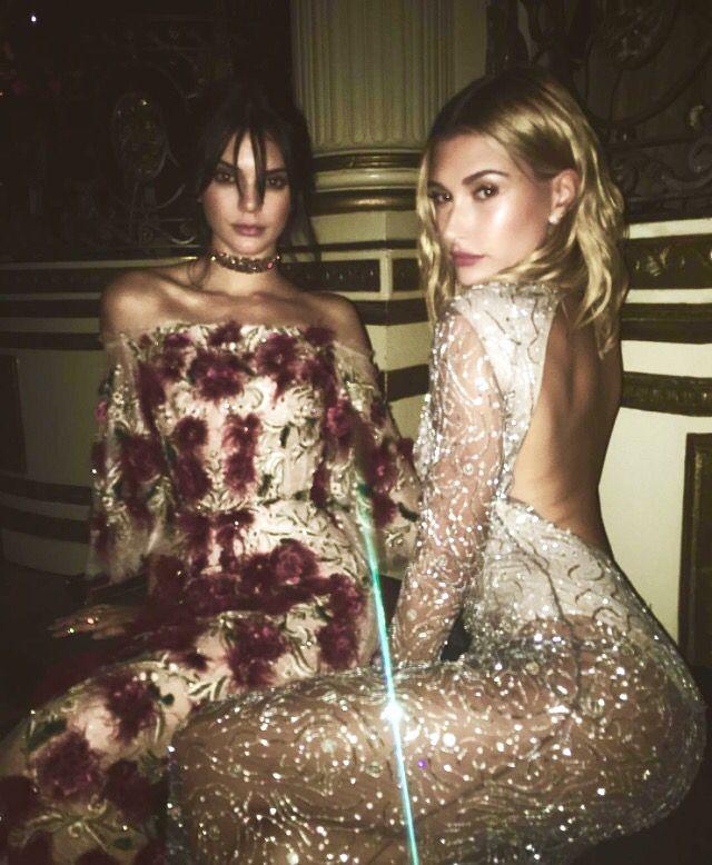 Kendall Jenner Short Dress: Kendall & Hailey