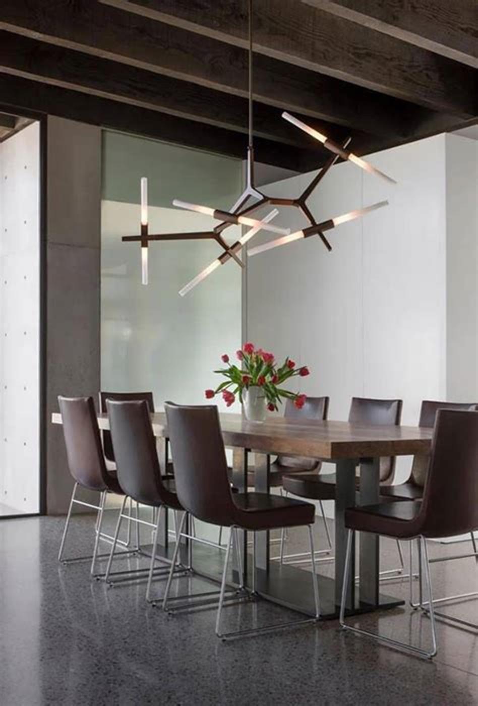 45 Best Modern Chandelier Dining Room Ideas For 2019 36 Decorecent 45 Best Mo In 2020 Dining Room Chandelier Modern Modern Chandelier Dining Dining Room Decor Modern