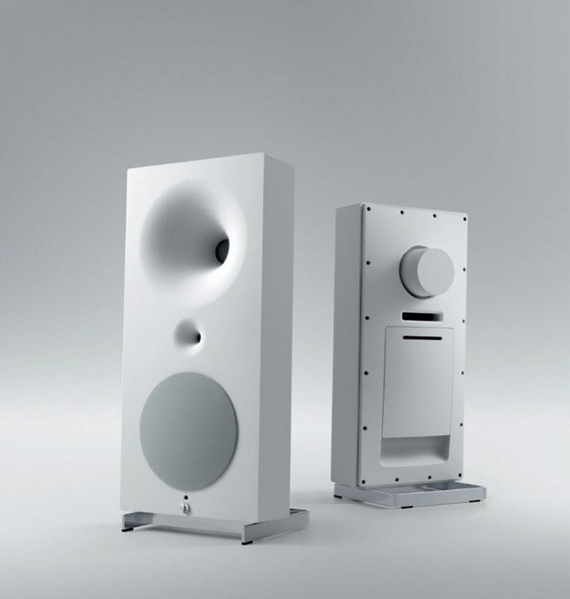 Zero speakers by avantgarde acoustic boss life pinterest acoustic and modern also rh in
