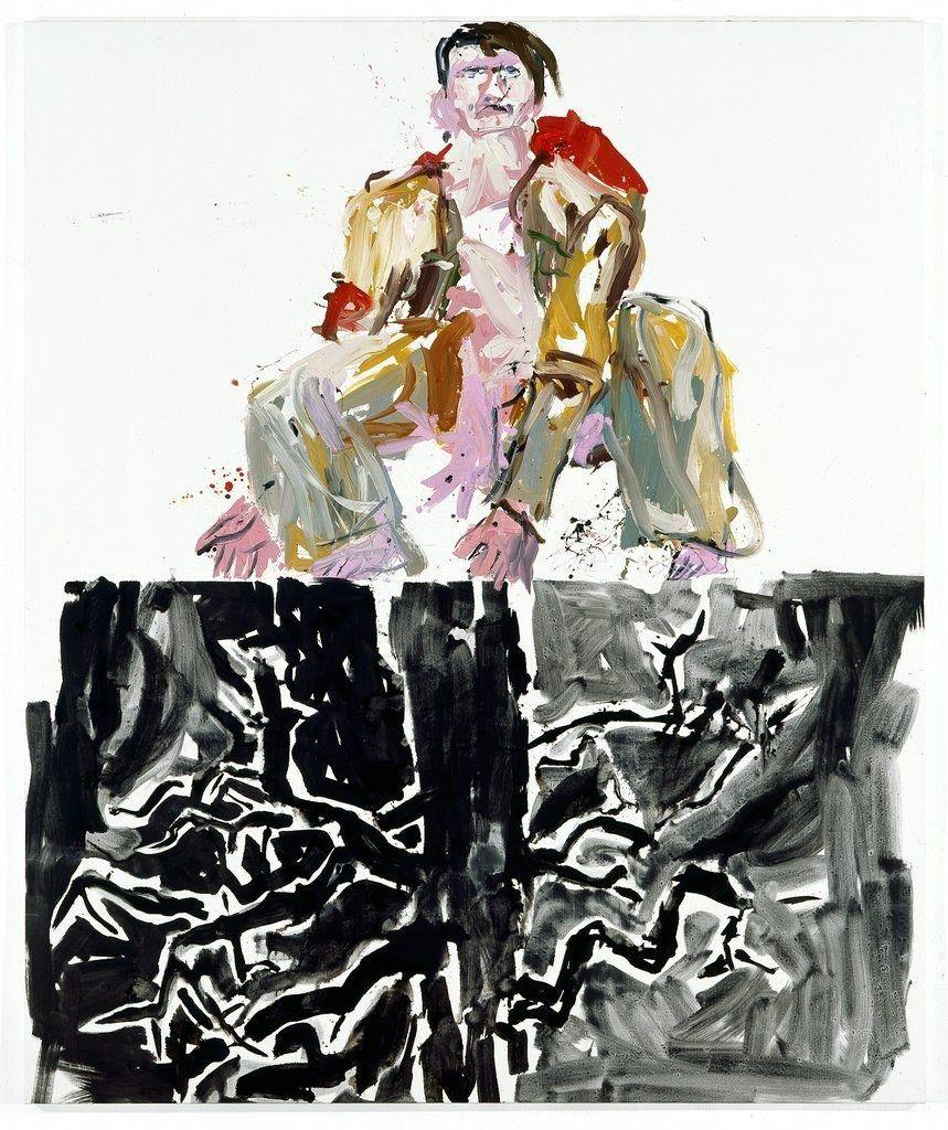 George Baselitz Modern Painter Remix 2007 Courtesy Of Berlinishe Galerie Museum Fur Moderne Und Zeitgenossische Kunst In Ber Berlin Gallery Art Fine Art