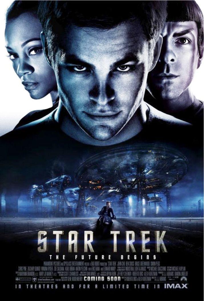 Star Trek 2009 Movie Posters