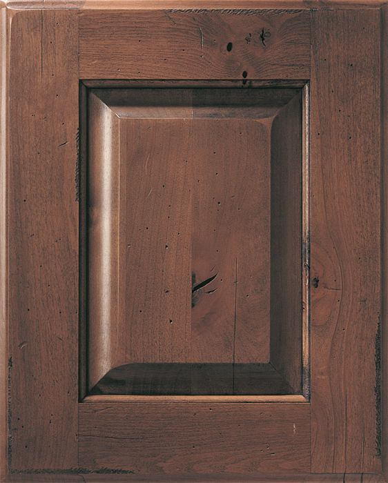 Knotty Alder Cabinets: Distressed Alder Kitchen Cabinets