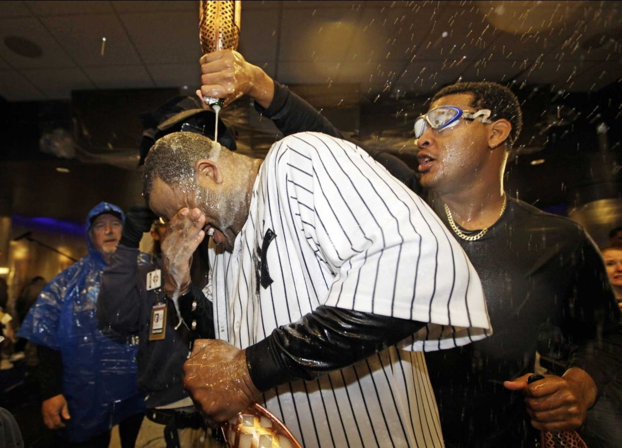 Yankees Opted For Beau Joie Champagne For Their Celebration For Some Interesting Sporty Reasons Http Gr New York Yankees Baseball Series Baltimore Orioles