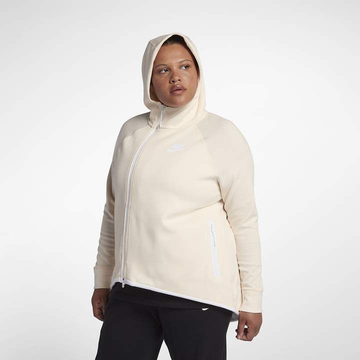 860593d6eb Nike Sportswear Tech Fleece Women's Full-Zip Cape (Plus Size) | Golf ...