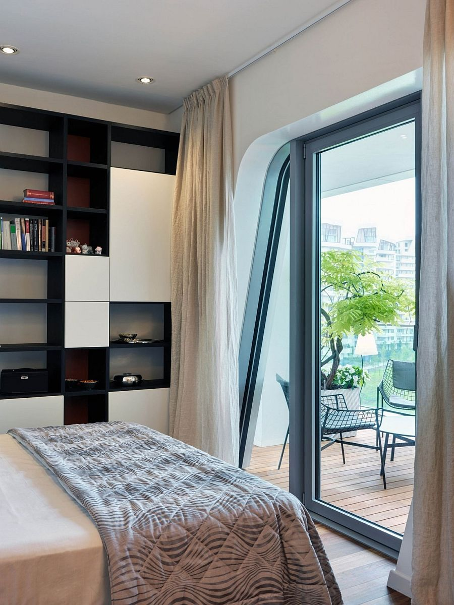 Apartments Small Bedroom Design Ideas With White Coverbed Also Bedding With Wooden Shelves Also White Cur Small Master Bedroom Small Room Bedroom Small Bedroom