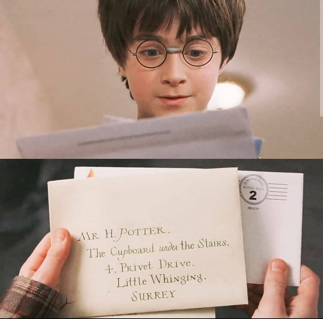 Harry Potter On Instagram Have You Got Your Hogwarts Letter Follow Wizardz World For More Hogwarts Sl Hogwarts Hogwarts Letter Potter