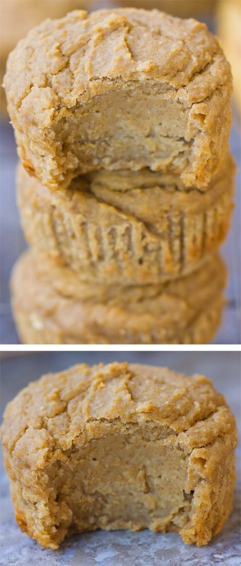 EASY Flourless Blender Muffins Recipe