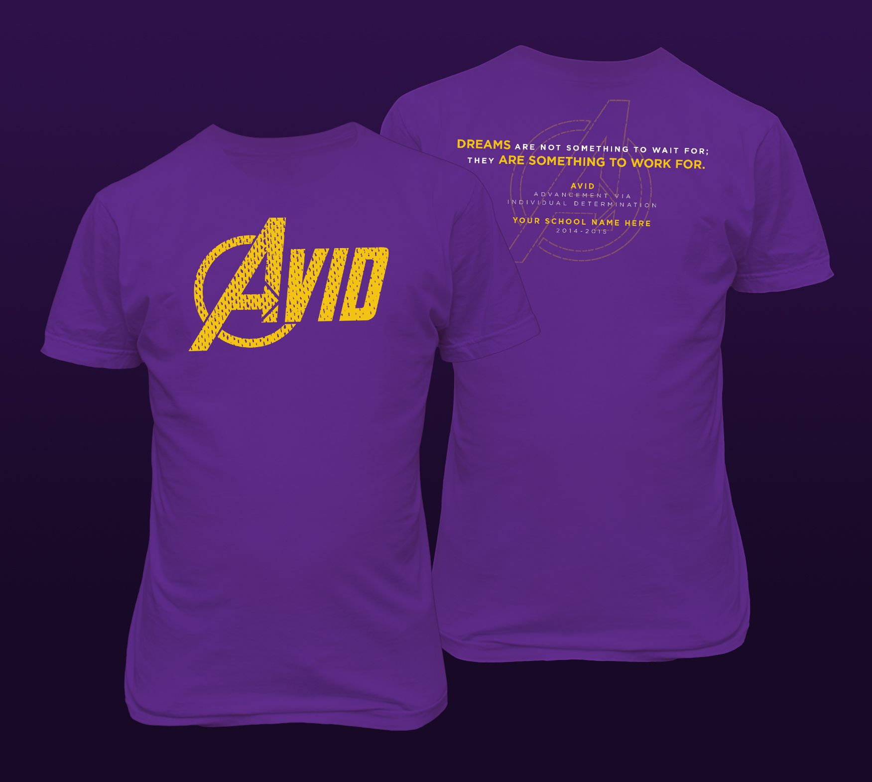 We 39 Ve Designed This T Shirt For The Avid Program As A