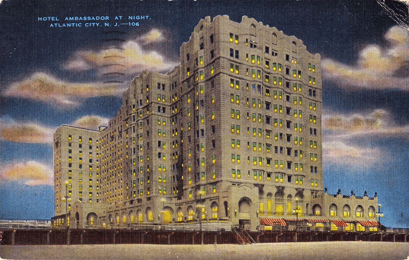 Ambassador Hotel Atlantic City Atlantic City Ambassador Hotel City