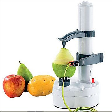Shop Automatic Electric Fruit Potato Peeler Tool without Adapter - Instant Savings