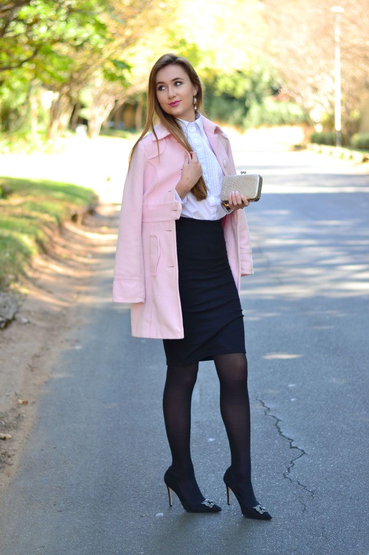Winter Outfits With Pencil Skirts