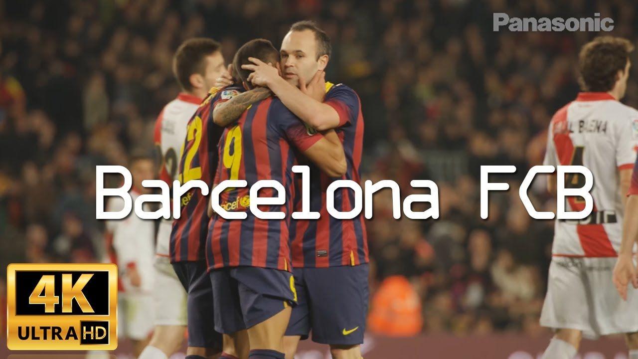 Panasonic 4K Demo : Barcelona FCB | Panasonic 4K Demo