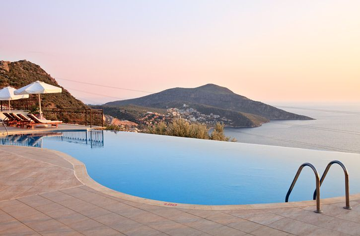 Exclusively Available To Simpson Travel The Delightful Mediteran Hotel In Kalkan Turkey Offers Stunning Sea Views A Hillside Haven