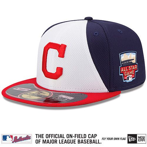 f4e7661deea Cleveland Indians Authentic Collection All-Star Game Diamond Era On-Field  59FIFTY Cap with 2014 All-Star Patch