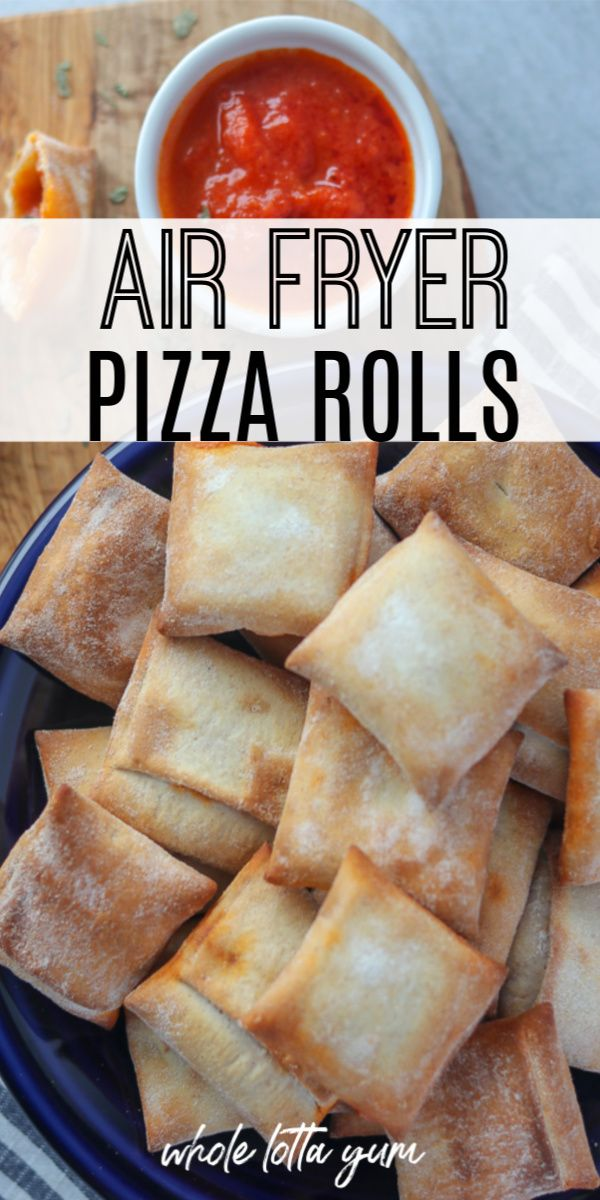 The BEST Pizza Rolls in Air Fryer Recipe in 2020 Pizza