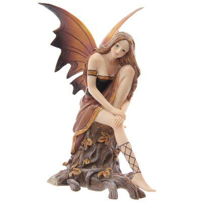Autumn Whispers Fairy Figurine Fantasy Figurine Fairy Figurines Fairy