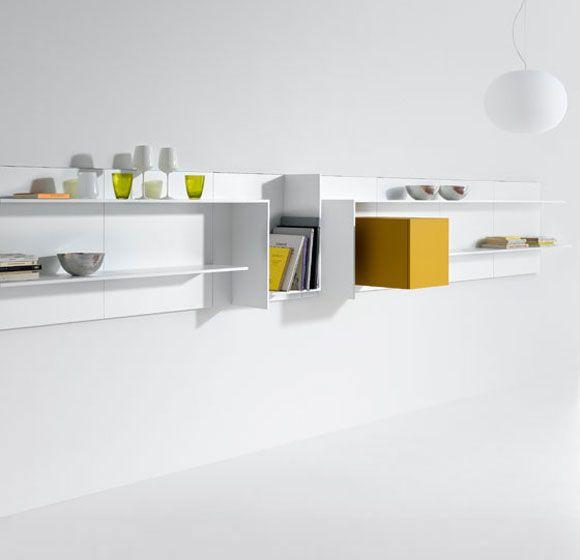 Elegant Contemporary Modular Bookcase   VITA By Massimo Mariani U0026 Aedas Ru0026D   MDF  Italia   Videos