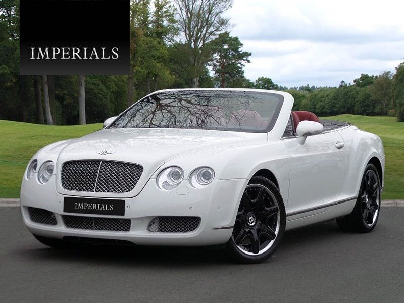 """JUST IN! Very Rare and Original White with Fireglow GTC! Mulliner seats and 20"""" Alloys. Won't stay for long, £53,995"""
