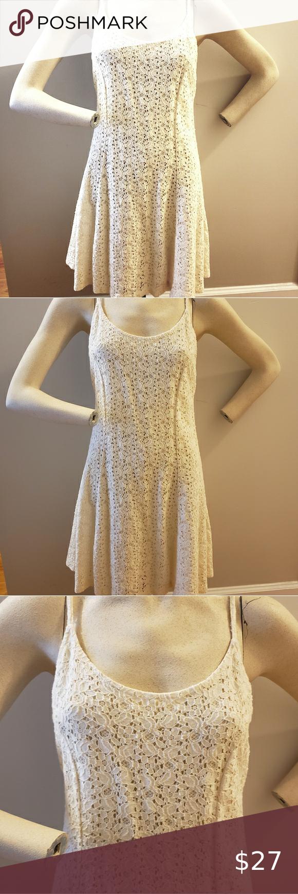 Vintage 90s Cream White Lace Skater Dress S White Lace Skater Dress Lace Skater Dress Skater Dress [ 1740 x 580 Pixel ]