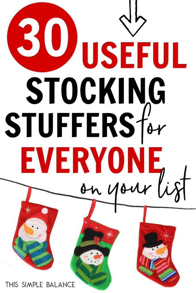 30+ Useful Stocking Stuffers for Everyone on Your List ...