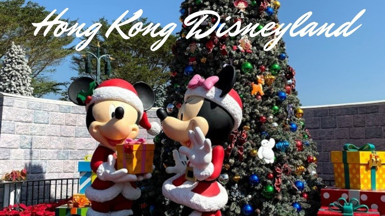 Christmas At Hong Kong Disneyland In 2020 Hong Kong Disneyland Disneyland Christmas