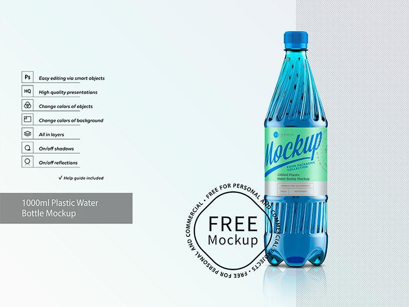 Download Plastic Water Bottle Mockup In 2020 Bottle Mockup Water Bottle Plastic Water Bottle