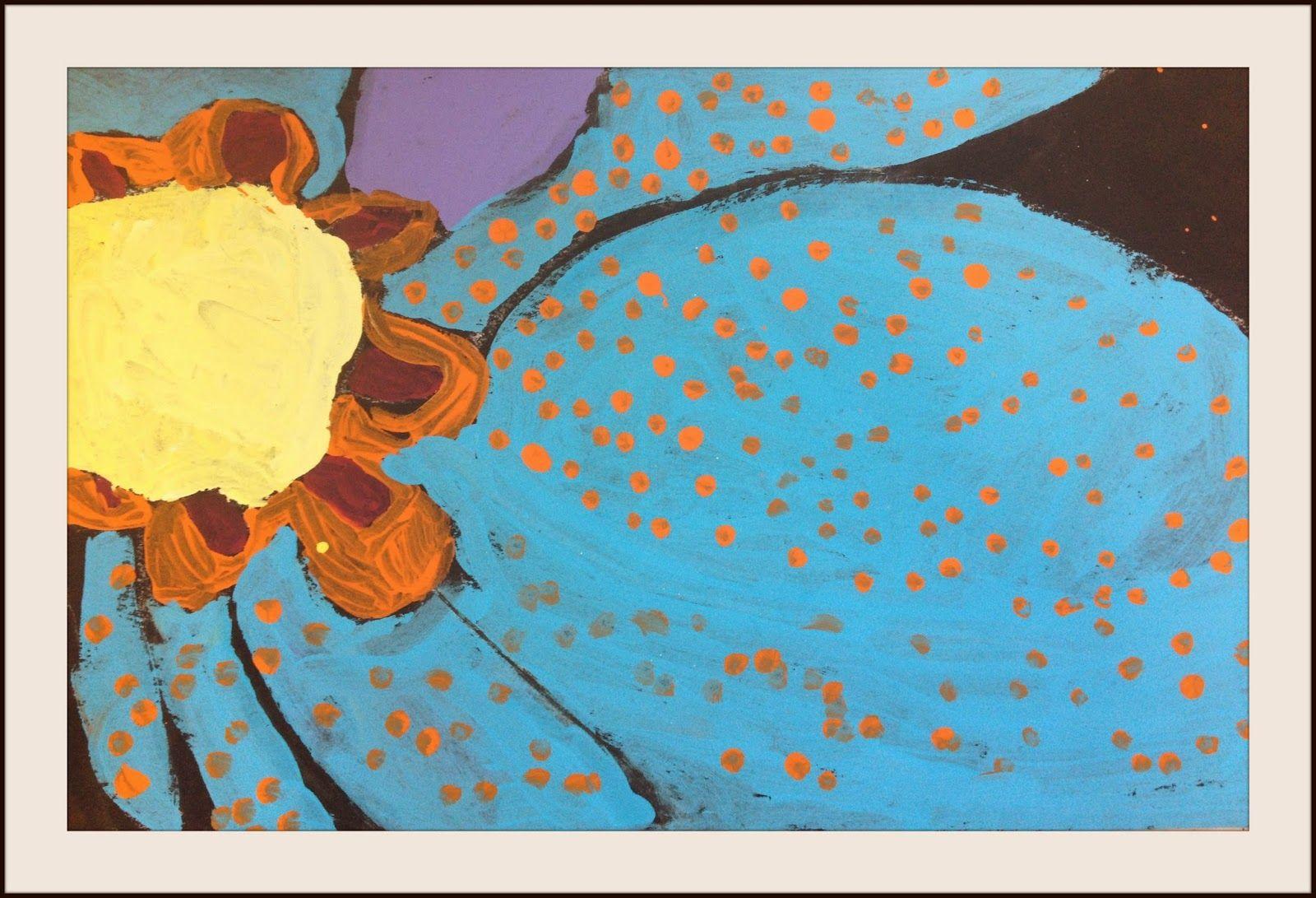 Marymaking Georgia O Keeffe Flowers With Roofing Felt