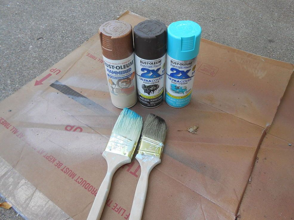 How To Spray Paint Easy Faux Copper Patina Copper Patina Diy Patina Diy Copper Patina