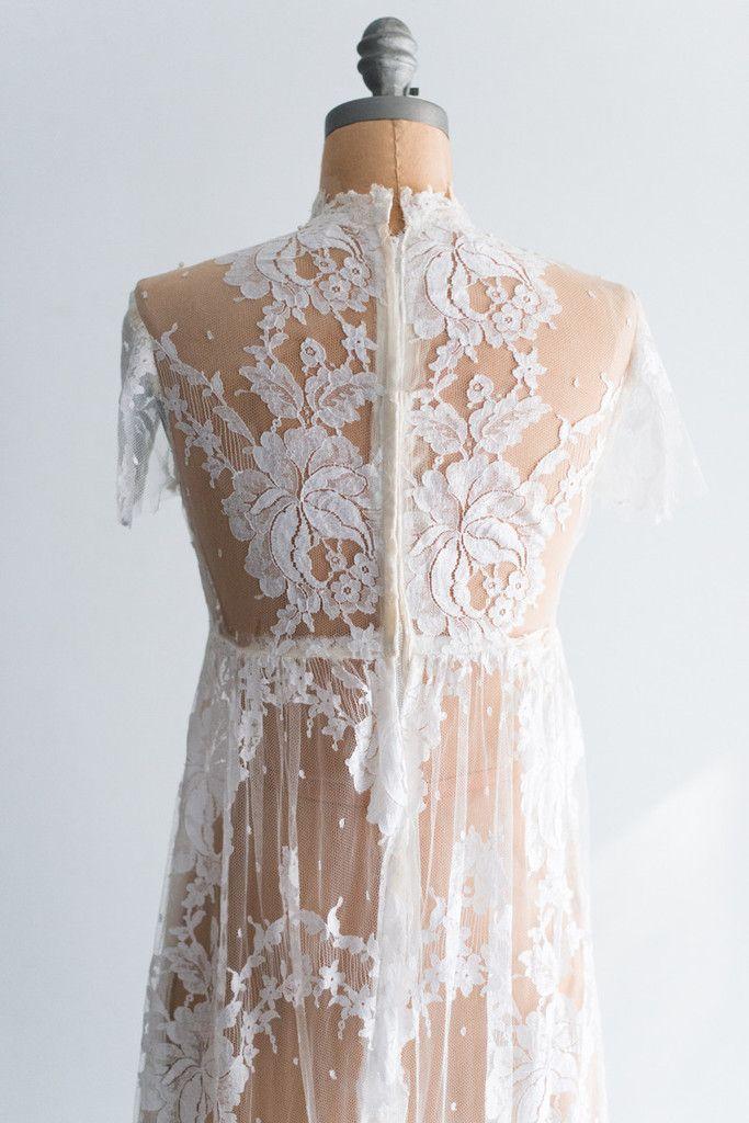 True Vintage Brautkleid Nr. 11: Beschreibung: Brautkleid aus den ...