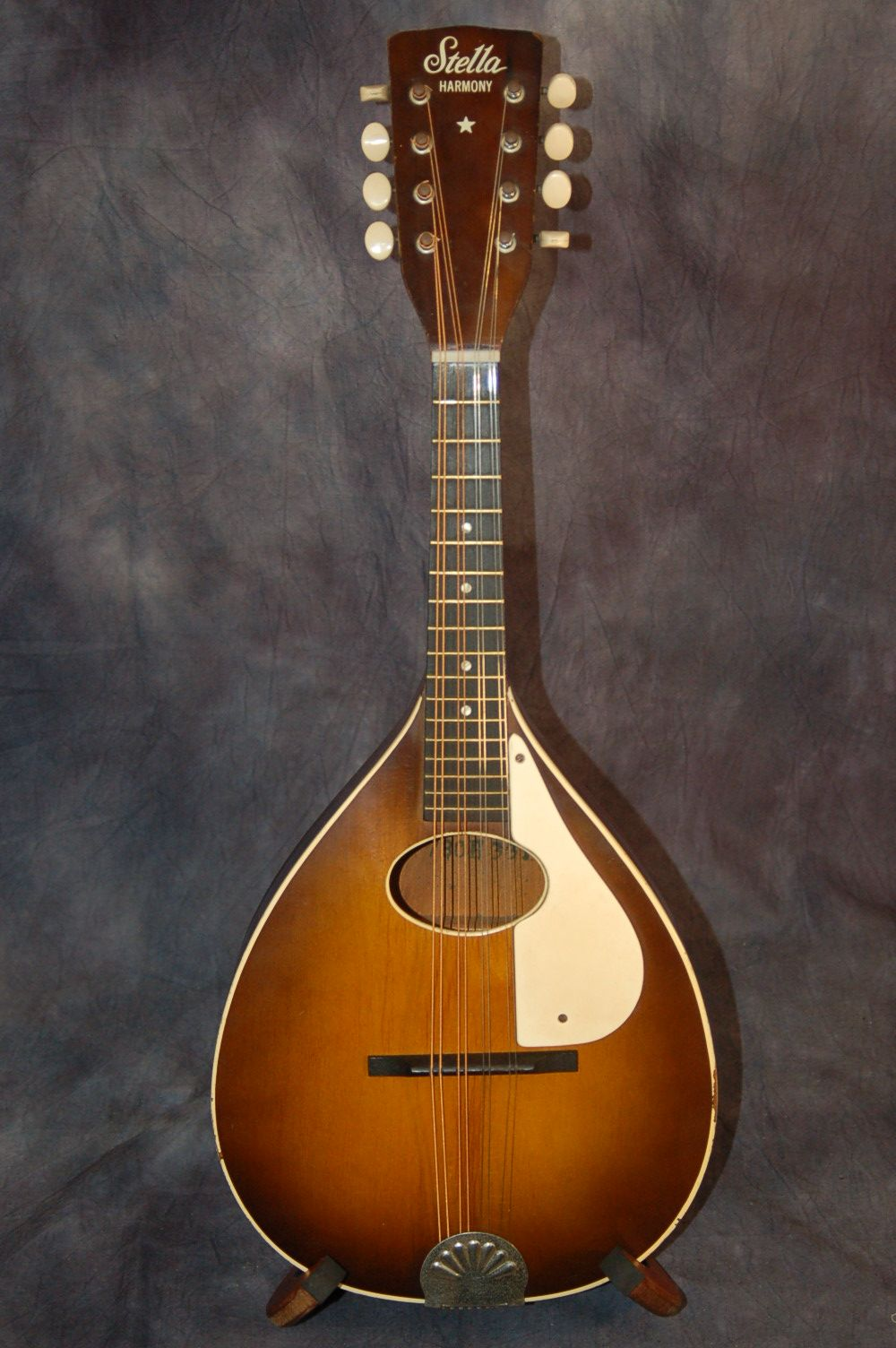 1960 39 s a style harmony stella mandolin for sale in my ebay store give me a call 515 864 6136. Black Bedroom Furniture Sets. Home Design Ideas