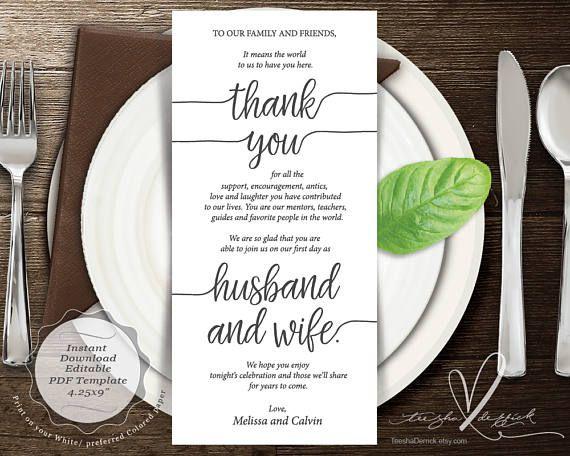 Pin By Teesha  Derrick On Thank You Cards    Wedding