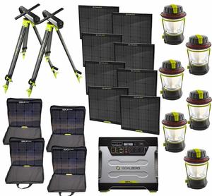 Goal Zero Yeti 1250 Maximum Solar Intake Generator Kit Solar Panels For Home Best Solar Panels Solar Panels
