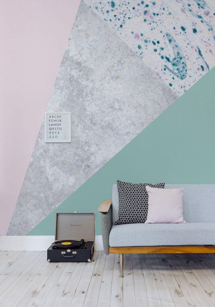 Blog Heart Home Geometric Wall Interior Design Trends