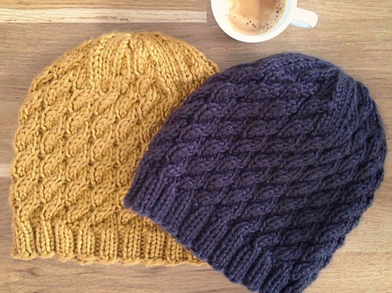 Matthew's Beanie - Free knitting pattern available at