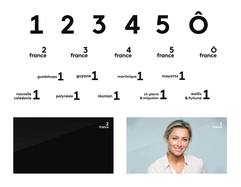 Les nouveaux logos des chaînes de France Télévisions - Brice Frantzen