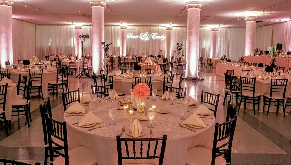 Wedding Reception At The Bloomington Center For The Performing