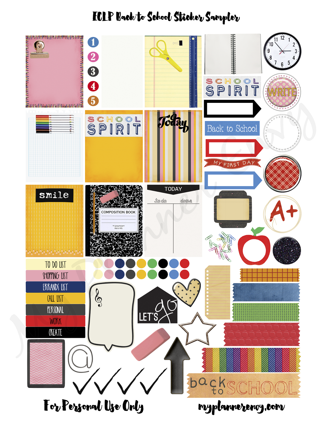 Printable Planner Stickers Student It 39s Freebie Friday And I Don 39t Know About You All But I