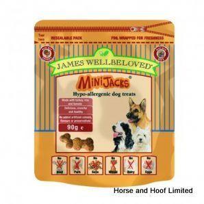 James Wellbeloved Mini Jacks Turkey 90g A Complementary Treat With