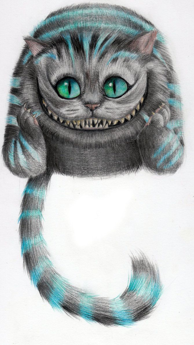 Cheshire Cat art | Alice | Pinterest | Prestado, Alicia en el pais y ...