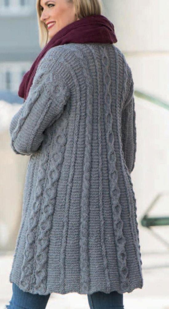 PDF Digital Download Vintage Knitting Pattern to make a Ladies ...