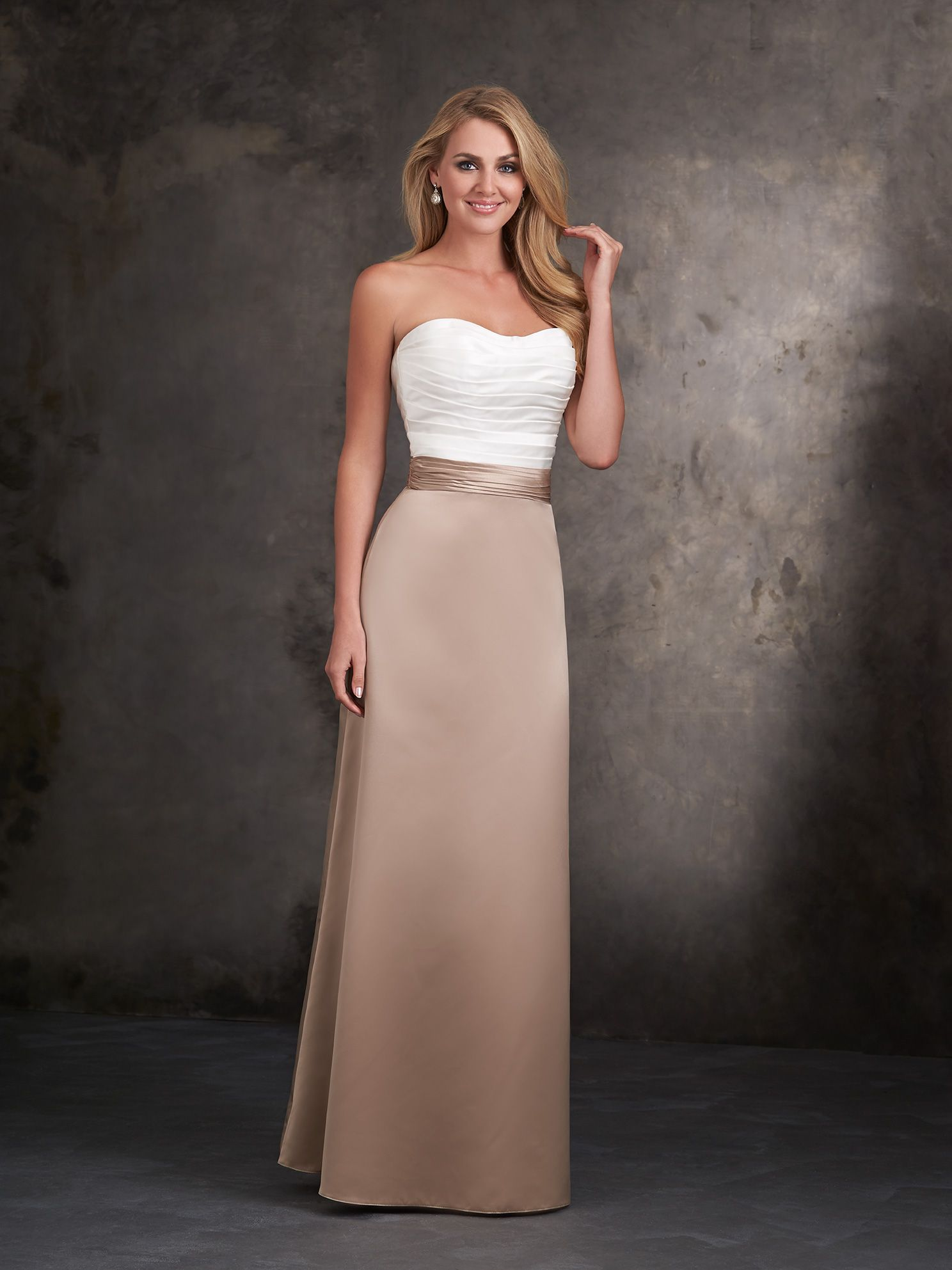 You can do the top bottom same color or different lots of discover the allure 1401 bridesmaid dress find exceptional allure bridesmaid dresses at the wedding shoppe ombrellifo Gallery