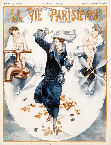 La Vie Parisienne, Samedi 10 Novembre 1923 ~ Chéri Hérouard