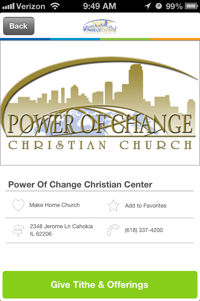 Places of Worship Church Giving App (With images