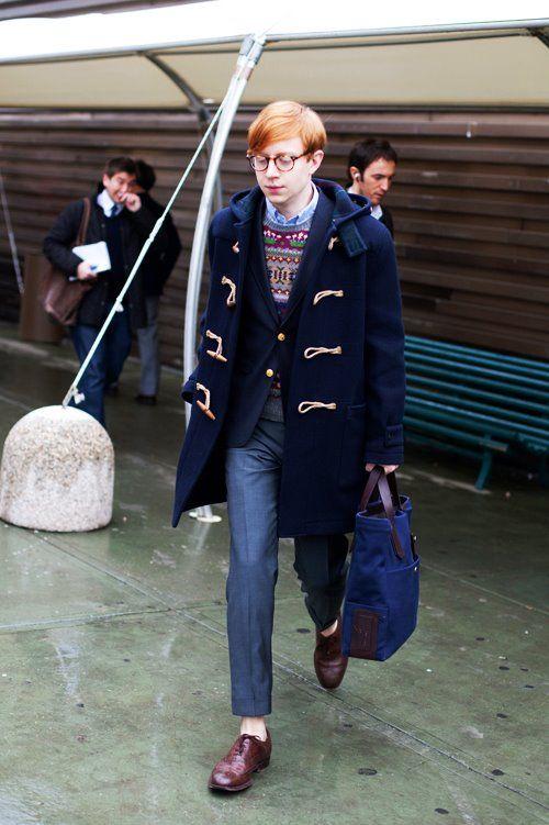 toggle Duffle coat | Fashion:Men's-Ivy & preppy | Pinterest ...