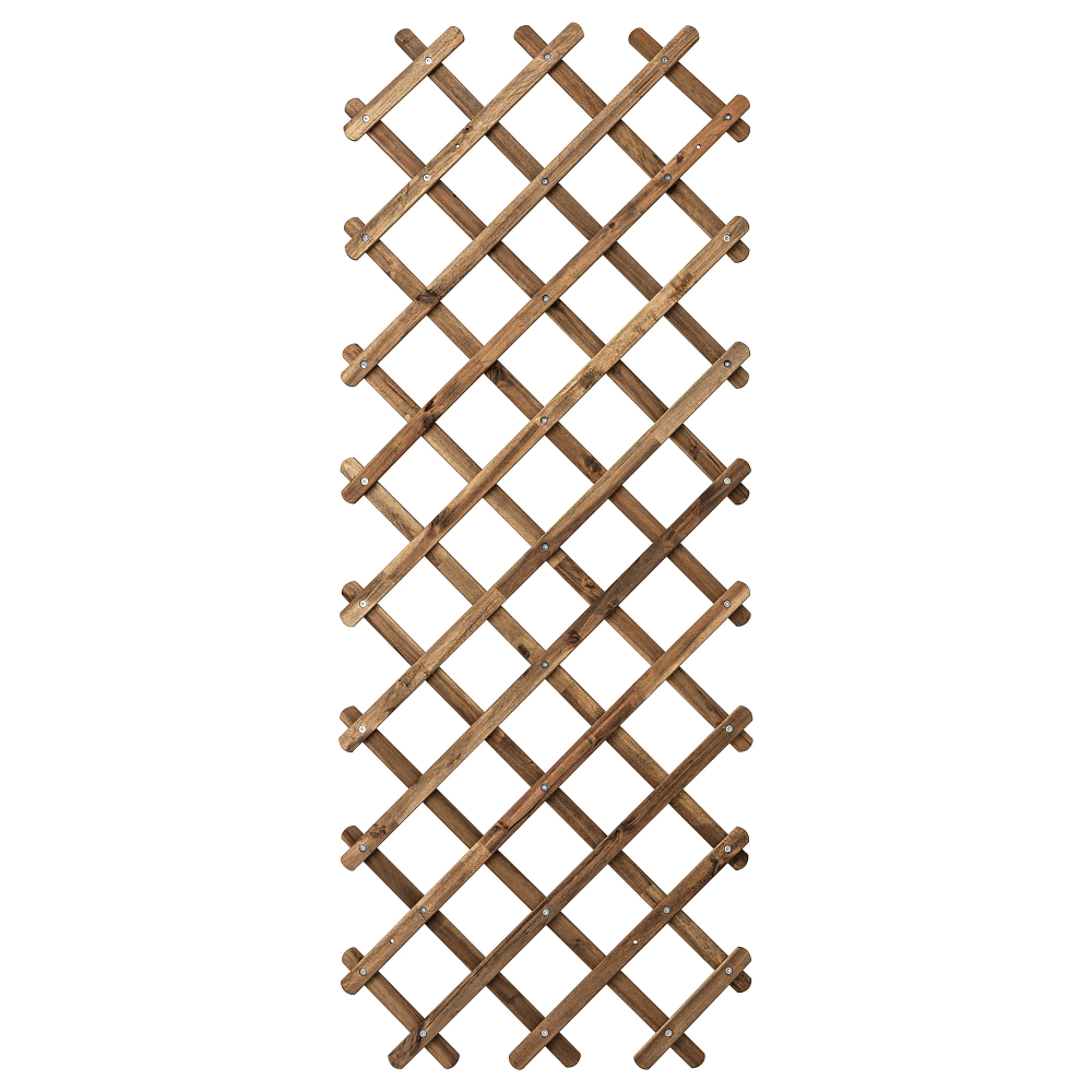 ASKHOLMEN Trellis - light brown stained gray-brown stained ...