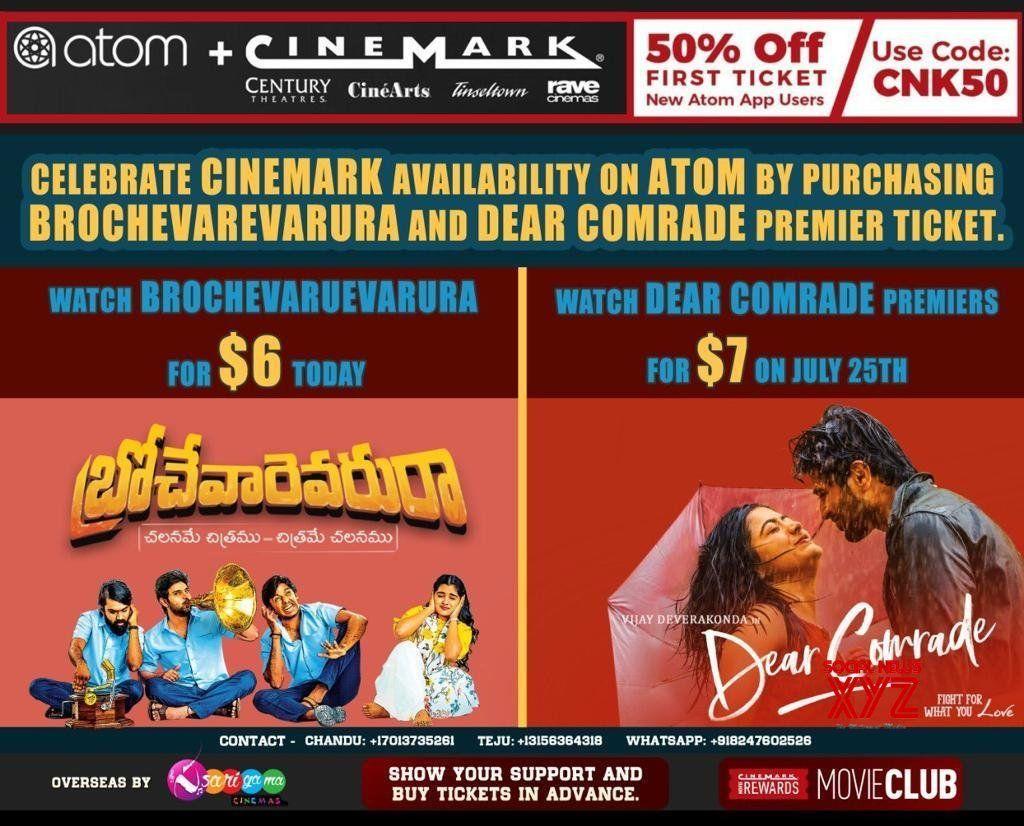 Brochevarevarura For 6 Dollars And Dear Comrade Premiere For