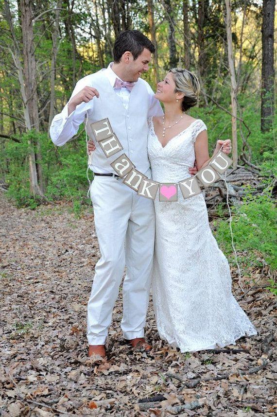 Rustic Wedding Thank You Gifts