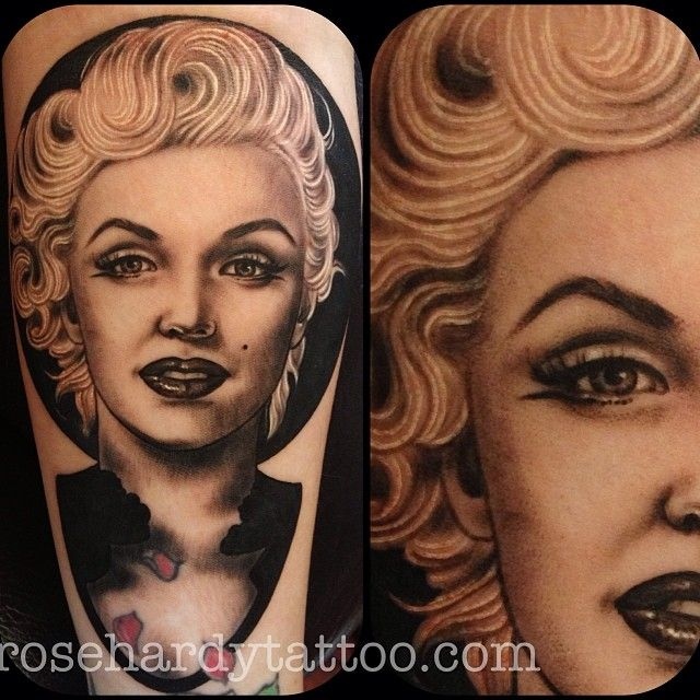 Marilyn Monroe Tattoo by Rose Hardy