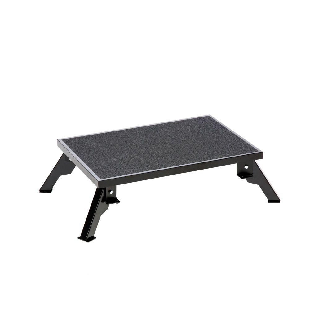 Pleasing Folding Steel Platform Step Rv Gear Platform Outdoor Inzonedesignstudio Interior Chair Design Inzonedesignstudiocom