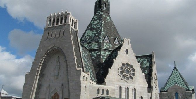Canada Trip Highlights: Basilica Of Our Lady Of Rosay